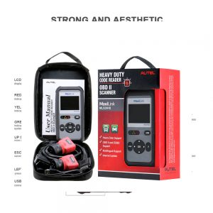 Autel MaxiLink ML529HD heavy duty scan tool