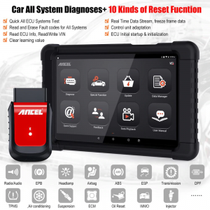 Ancel X6 multibrads scan tool full systems