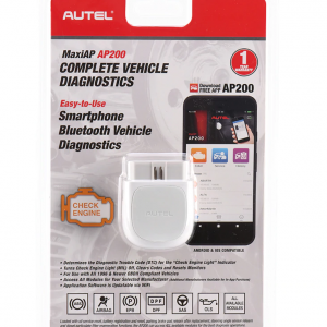 Autel AP200 Android and iOS Scan tool for all systems