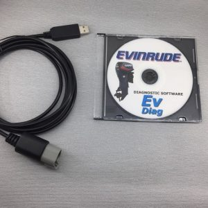 Diagnostic scan tool for EVINRUDE E-TEC marine