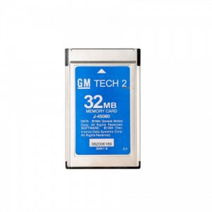 32MB card for GM Tech 2 scan tool