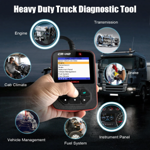 Launch CR-HD  heavy duty trucks scan tool