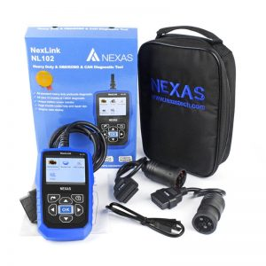 NEXAS NL102 + Plus heavy duty truck scan tool