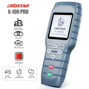 OBDSTAR  X-100 Pro key and odometer programmer (C+D+E)