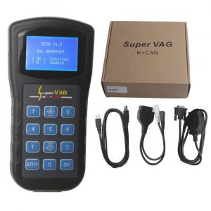 Super vag K+CAN scan tool and odometer programmer